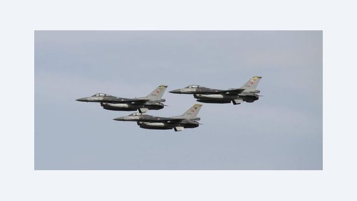 Turkish F16 fighter planes (photo: imago/Xinhua)