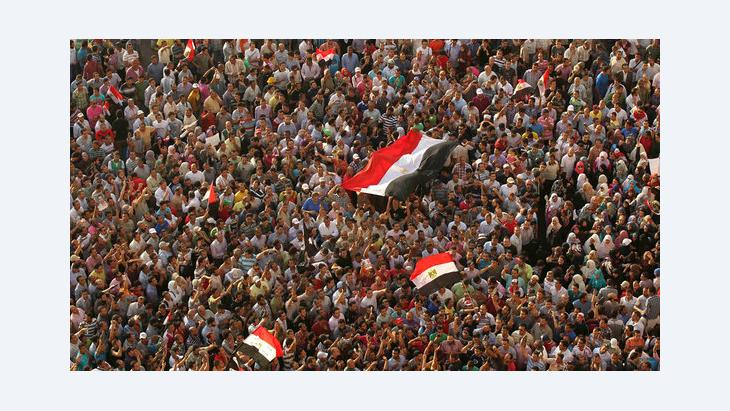 Protests on Tahrir Square, Cairo (photo: Reuters)