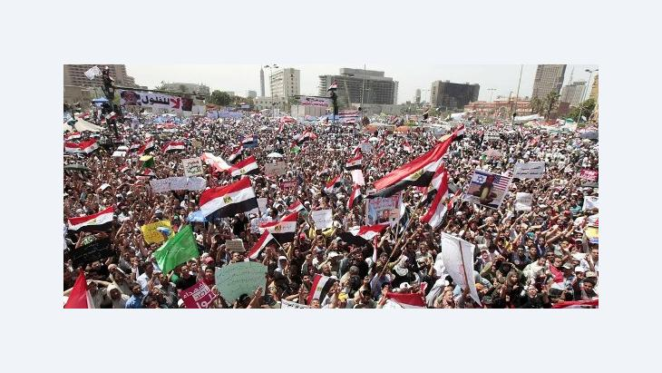 Protests on Tahrir Square on 20 April 2012 (photo: Reuters)