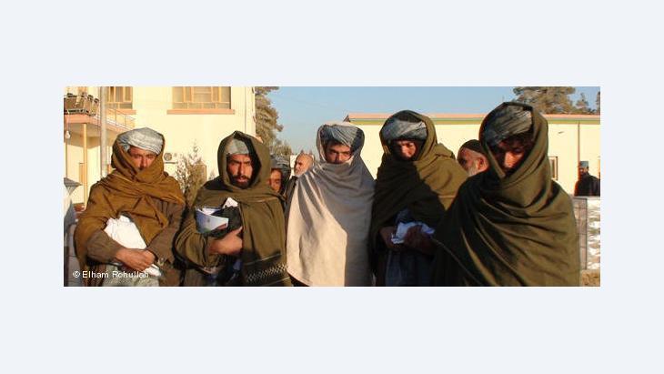 Taliban in Helmand (photo: Elham Rohullah)