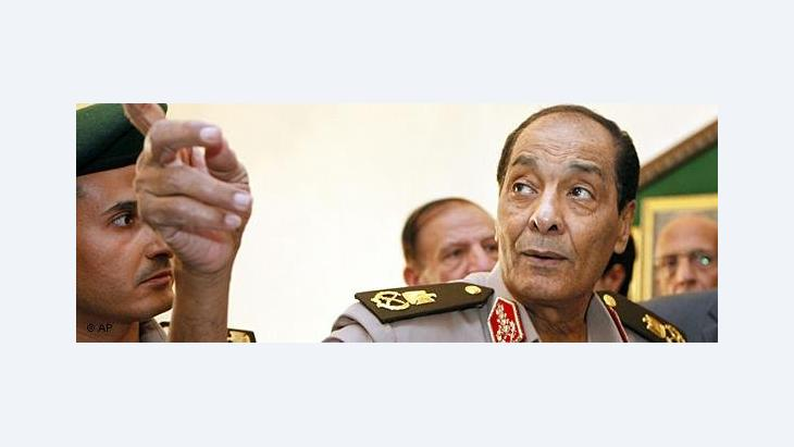 Mohamed Hussein Tantawi, head of the Egyptain Military Council (photo: AP)