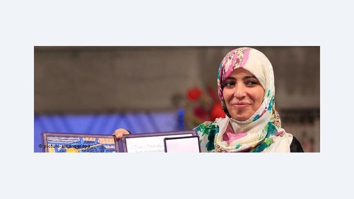 Tawakkol Karman (photo: picture alliance/dpa)