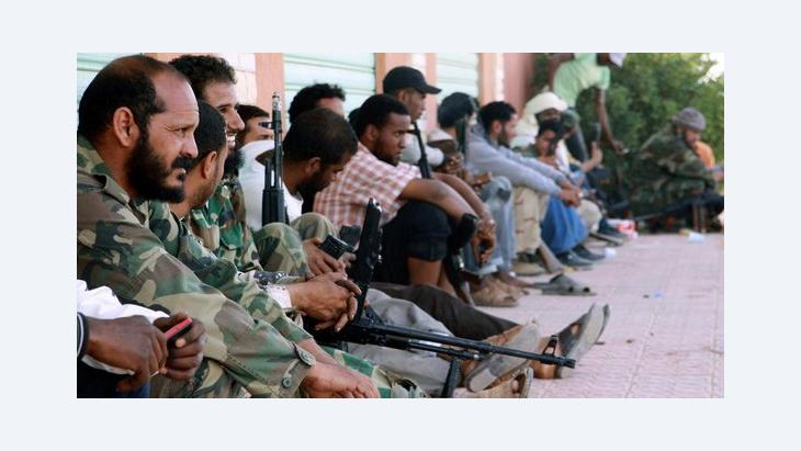 Fighters prepare for clashes between rival militias in the southern Libyan city of Sabha (photo: Reuters)