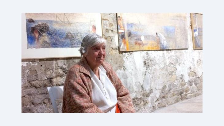 Etel Adnan (photo: Norma Cole)