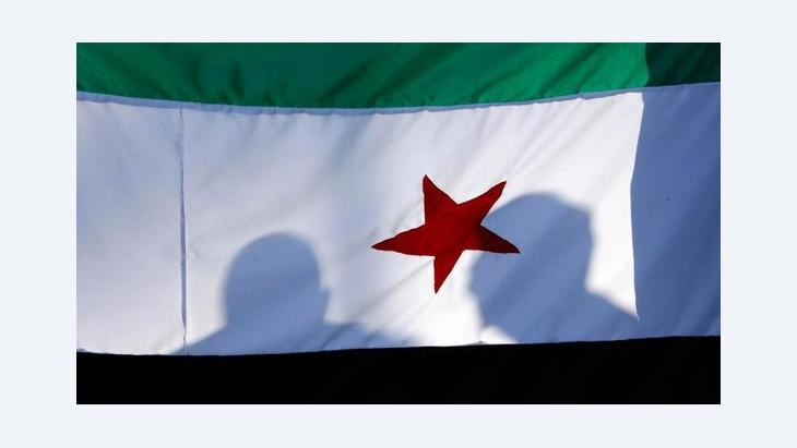 The flag of the Syrian opposition (photo: Reuters)