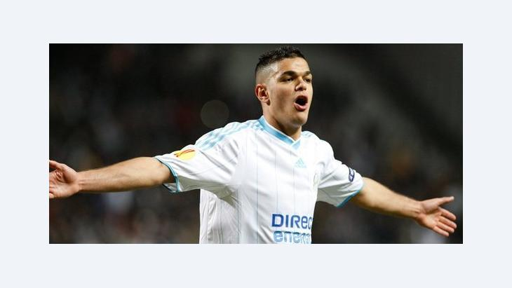 Hatem Ben Arfa of Olympique Marseille during the match against FC Copenhagen, in Marseille, 25 February 2010 (photo: dpa)
