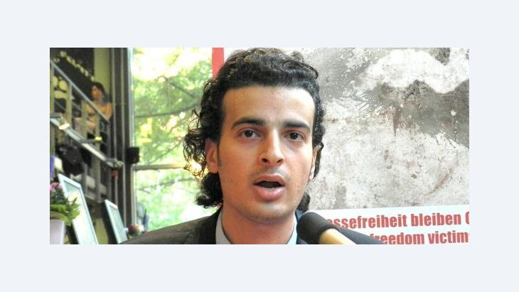 Egyptian blogger Maikel Nabil Sanad (photo: Bettina Marx/DW)