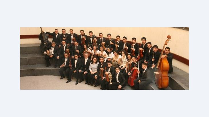The National Youth Orchestra of Iraq (photo: NYOI)