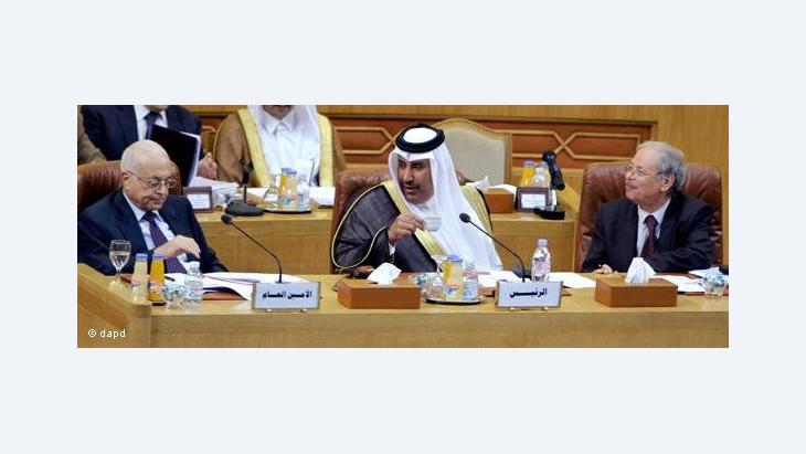 Delegates at the Arab League summit in Cairo in November 2011 (photo: dapd)