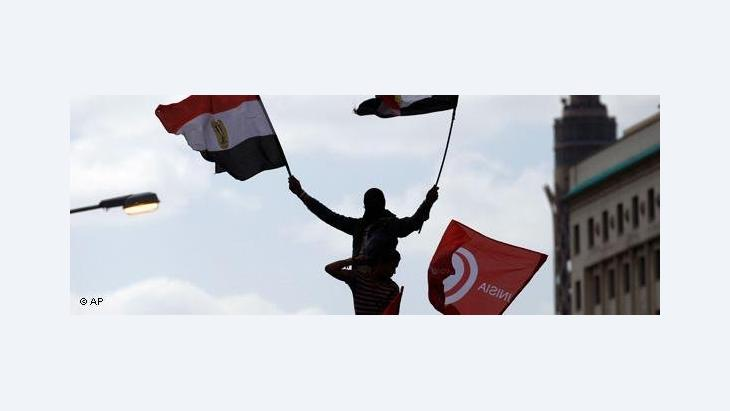 Protests on Tahrir Square (photo: AP)