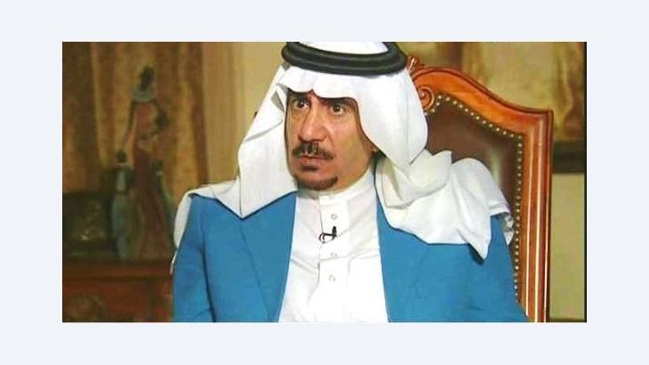 The Saudi writer and journalist Turki al-Hamad (Screenshot Al-Arabiya-TV)