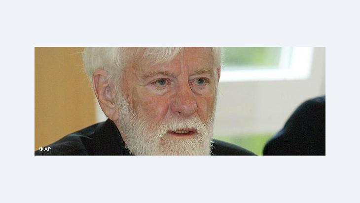 Uri Avnery (photo: AP)