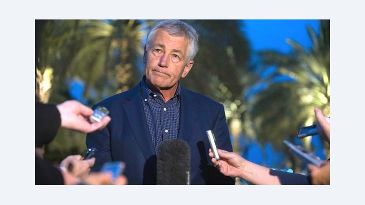 US Secretary of Defence Chuck Hagel (photo: Reuters)