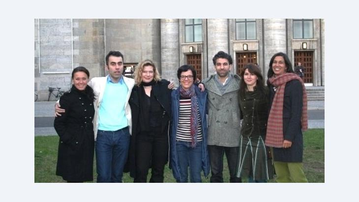 The founding members of the NdM (photo: © Neue deutsche Medienmacher)