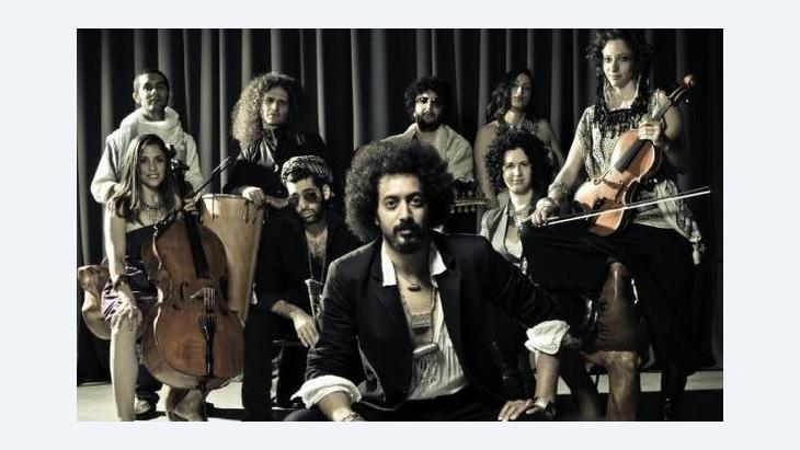 Ravid Kahalani and his band Yemen Blues (photo: © Zohar Ron/Yemen Blues)