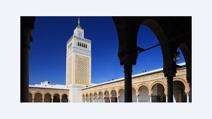 The Al-Zaituna Mosque in Tunis (photo: picture-alliance)