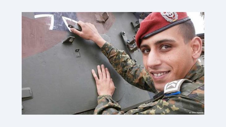 Sergeant Chaouki Aakil (photo: © Ulrike Hummel)