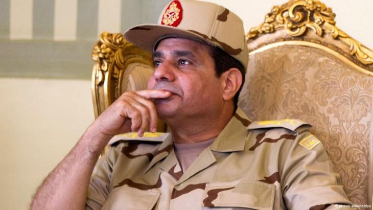 Head of Egypt's Armed Forces, Abdul Fattah al-Sisi (photo: Reuters)
