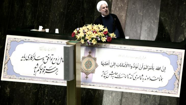 """Iran has done its best to avoid a confrontation in Syria,"" declared Iran's President Rohani, recently. Should military attacks against Damascus take place, however, he hopes that the strikes will not go on for long and that casualties be kept at a minimum. Tehran would then provide humanitarian aid"