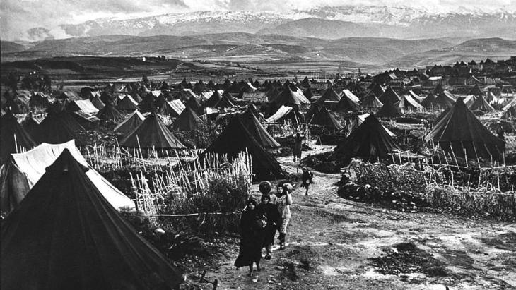 Nahr El-Bared, the first Palestinian refugee camp after 1948 (photo: UNRWA Archive/S. Madver)