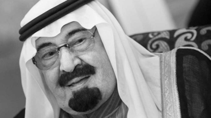 On the death of King Abdullah ...
