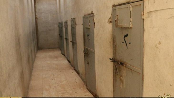 Cell doors in tadmor prison syria private 1