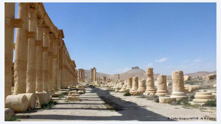 Palmyra: what remains? Palmyra's giant pillars used to be recognised around the world. This long boulevard of antiquity was feared to have been pulverised by Islamic State. But recent images show that much of the Great Colonnade survived IS and its reign of terror