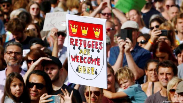 """Imperative for some, a dirty word for others: the term """"welcome culture"""" is linked like no other to the debate on refugee policy in Germany."""