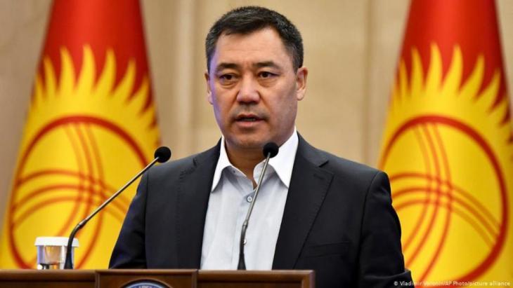 Favourite to win the presidential election: Sadyr Zhaparov