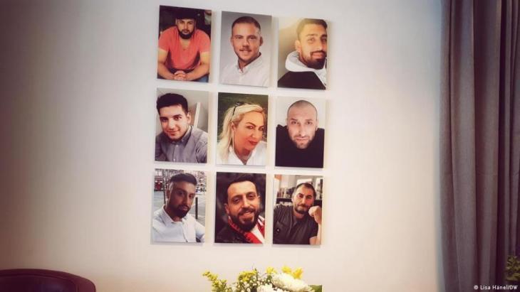 On 19 February 2020, a right-wing terrorist murdered nine people in Hanau, Germany: Gokhan Gultekin, Sedat Gurbuz, Said Nesar Hashemi, Mercedes Kierpacz, Hamza Kurtovic, Vili Viorel Paun, Fatih Saracoglu, Ferhat Unvar and Kaloyan Velkov.