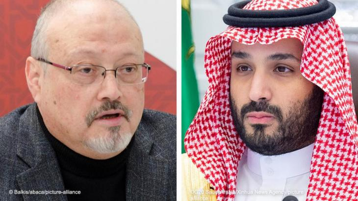 Crown prince with blood on his hands: Mohammad bin Salman is accused in a U.S. intelligence report of having sanctioned the murder of Saudi dissident Jamal Khashoggi.