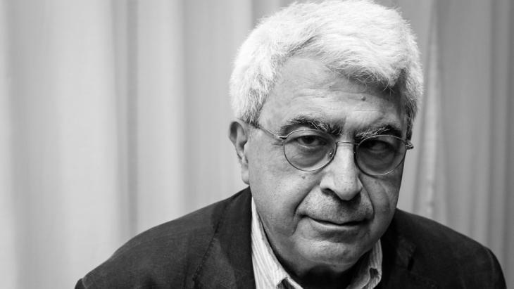 Lebanese author Elias Khoury