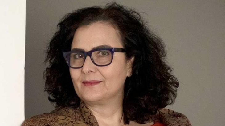 Lebanese author and visual artist Chaza Charafeddine.