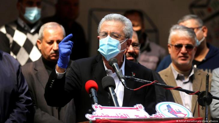 Mustafa Barghouti was born in Jerusalem in 1954. In 2005, he came second as an independent candidate in the election to succeed Yasser Arafat, behind the current president of the Palestinian Authority, Mahmoud Abbas. He is chairman of the Palestinian National Initiative party.