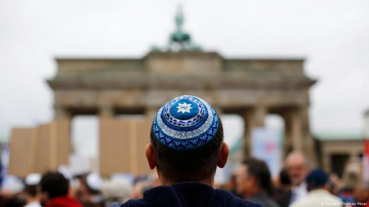 September 2014: demonstration against anti-Semitism in Berlin.