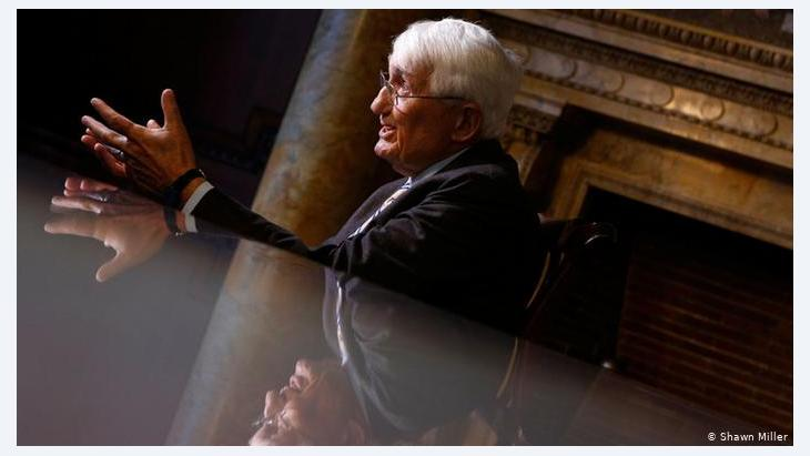 Having lived through the Nazi regime, Habermas was inspired to embolden democracy in Europe and the world.