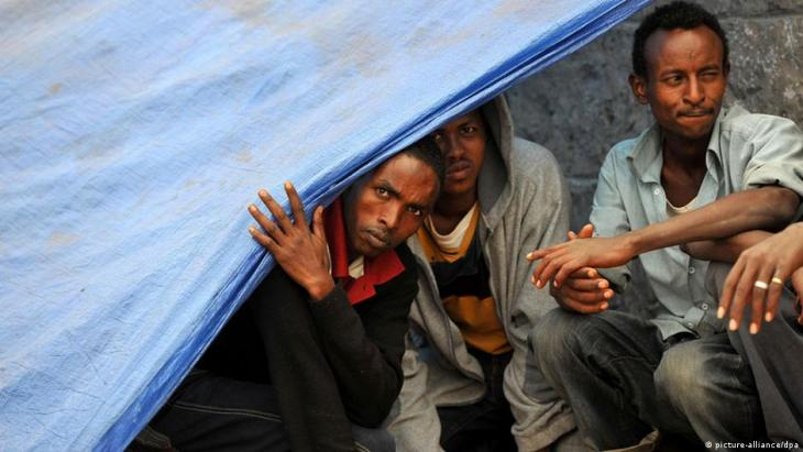 Refugees from Eritrea.