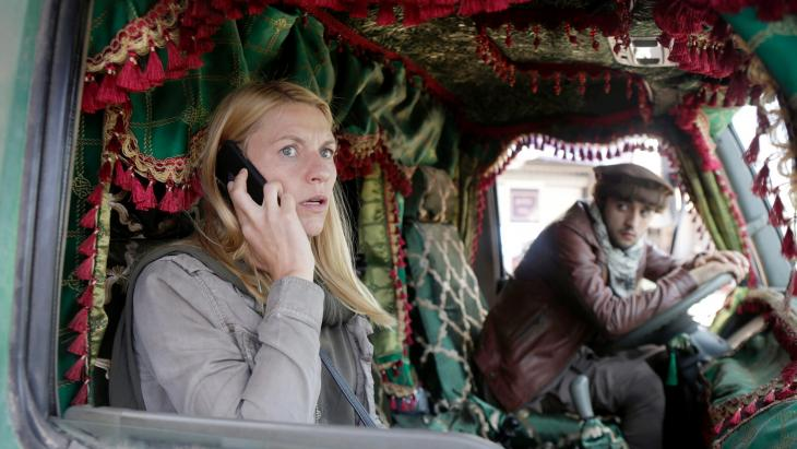"""In """"Homeland"""", starring actress Claire Danes, Shia Hezbollah are allied with the Sunni al-Qaida through their mutual hatred of the United States."""