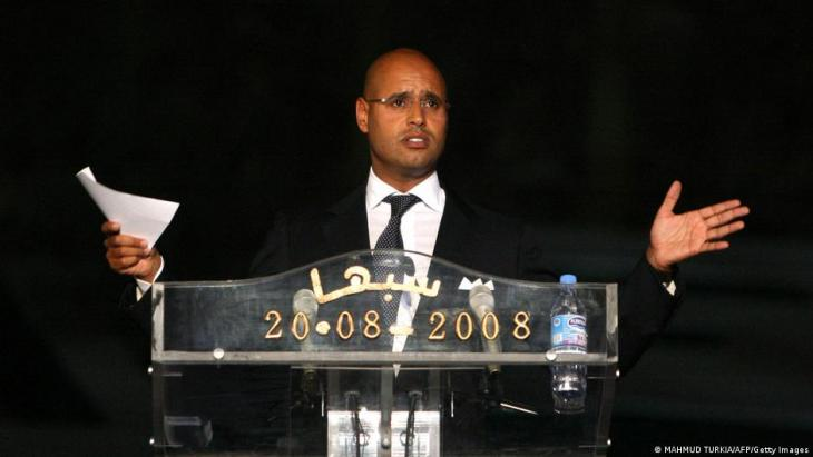 The most significant scion of the Gaddafi family today is 49-year-old Saif al-Islam (seen here in 2008), the only family member who has political ambitions at the moment,