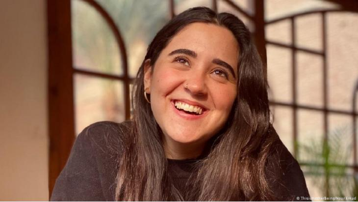 Nour Emam from Egypt runs online awareness courses and maintains an Instragram channel under the name thisismotherbeing for women from the Middle East.