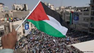 Palestinian flag (photo: DW)