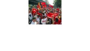 Germany is home to almost two million Turks.
