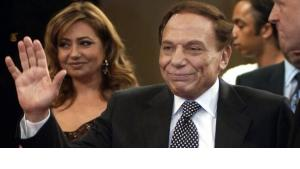 Adel Imam at the opening of the Dubai Film Festival (photo: AP)