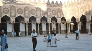 The inner courtyard of Al-Azhar University (photo: picture alliance/Bibliographisches Institut/Prof. Dr. H. Wilhelmy)