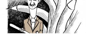 Caricature of the Syrian artist Ali Farzat (© Ali Farzat)