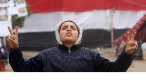 Protest on Tahrir Square (photo: AP, dapd)