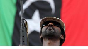A rebell in Bani Walid (photo: dpa)