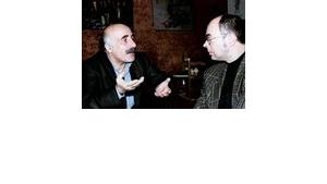 A. Beydoun and M. Kleeberg conversing; Photo: L. Bender