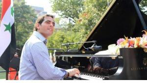 Malek Jandali during a concert outside the White House (photo: Malek Jandali)