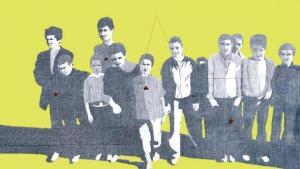 Dalila Dalléas Bouzar's 'Les enfants du soleil – children of the sun', Pencil and acryl on paper (courtesy: Dalila Dalléas Bouzar)